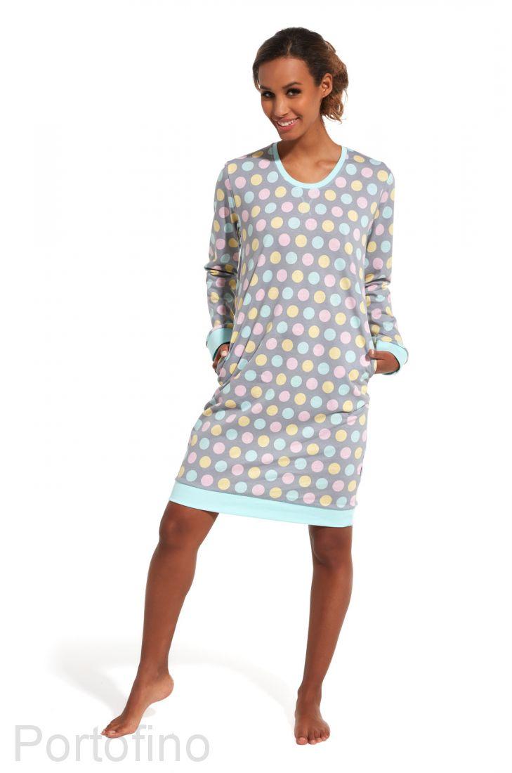652-150 Женская сорочка с длинным рукавом Cornette