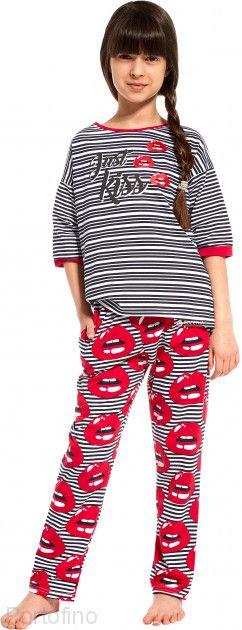 090-80 Пижама для девочки длинный рукав Cornette