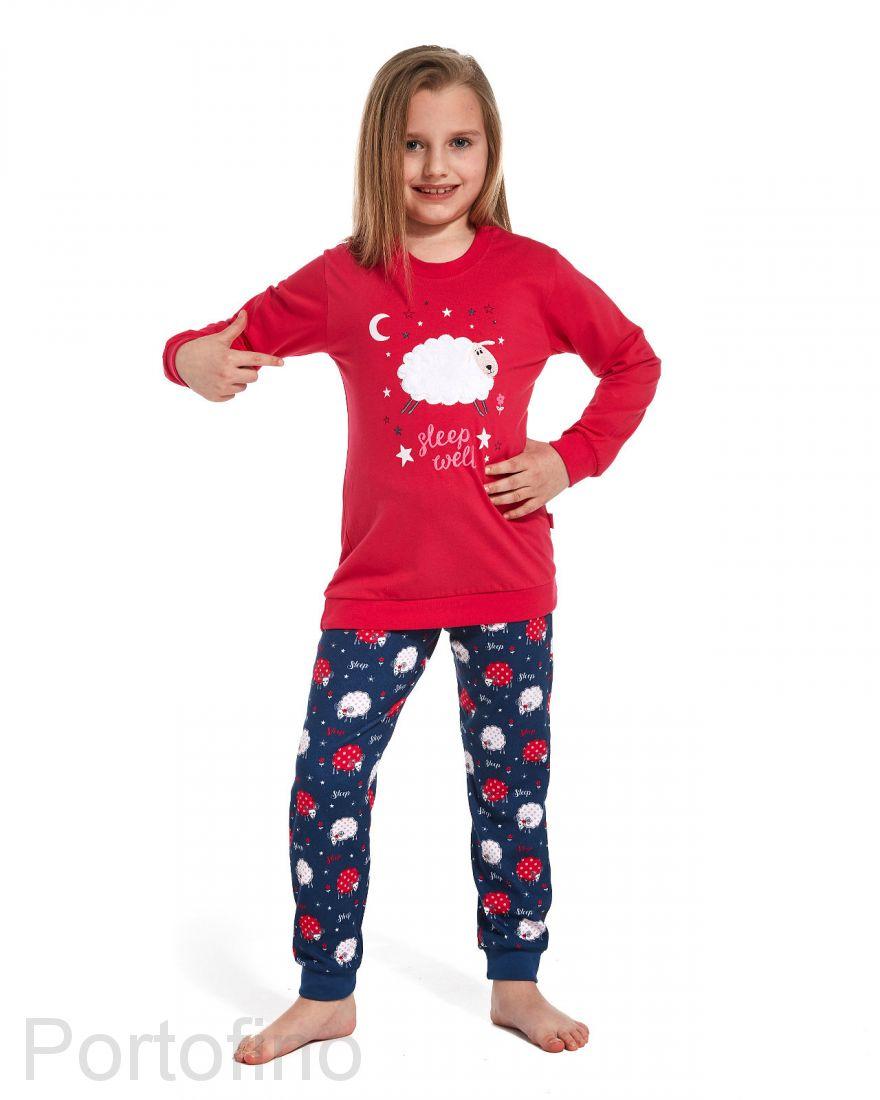 978-85 Пижама для девочки дл.рукав Cornette