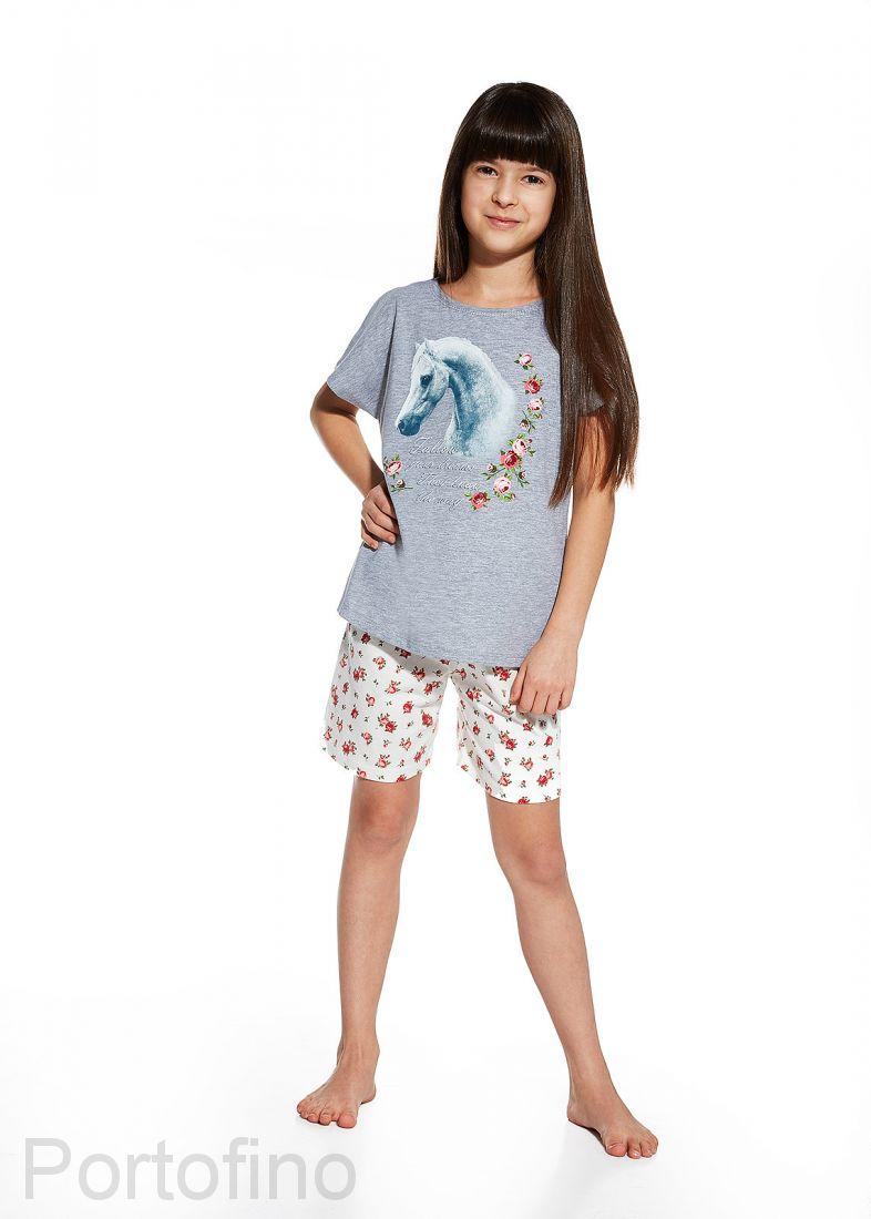 788-51 Пижама для девочки короткий рукав Cornette