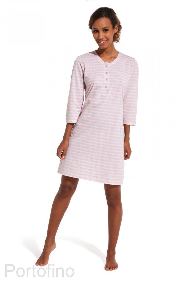 651-152 Женская сорочка с длинным рукавом Cornette