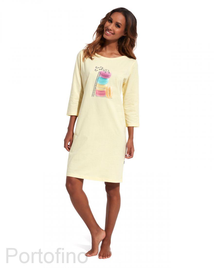 641-154 Женская сорочка с длинным рукавом Cornette