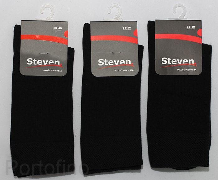 Носки хлопок для мальчиков однотонные Steven